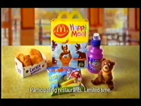 Mcdonalds Advert Kids Spin And Go Into A Happy Meal