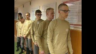 Первые группы ярославских новобранцев отправляют в места службы