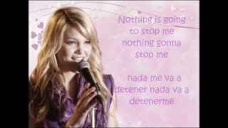 olivia holt-nothing gonna stop me now- en español