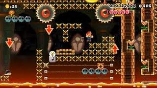 【Super Mario Maker】クリア率0%(0/34249)超鬼畜33…