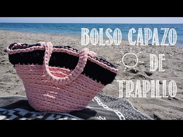 Capazo De Playa De Trapillo Paso A Paso Youtube