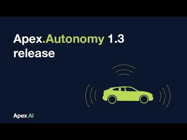 Apex.Autonomy 1.3 released