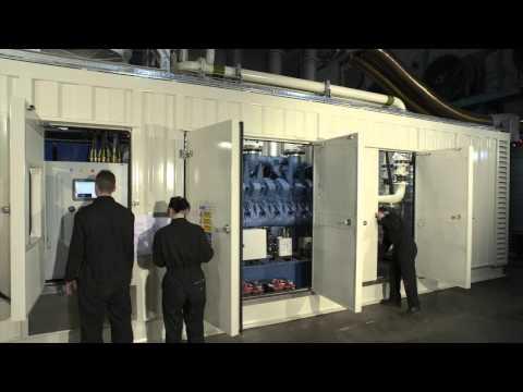 Bespoke Offshore Diesel Generator - 2MW