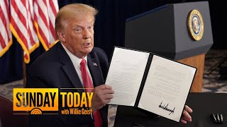 President Trump Signs Executive Order For Coronavirus Relief | Sunday TODAY