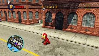 🚗 Лего Марвел Супергерои Игра на Плейстейшен для Самых Маленьких LEGO MARVEL Super Heroes #2 👍