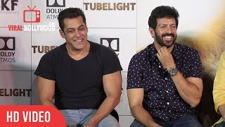 Salman khan funniest anwser to media reporter | media troll | tubelight official trailer launch