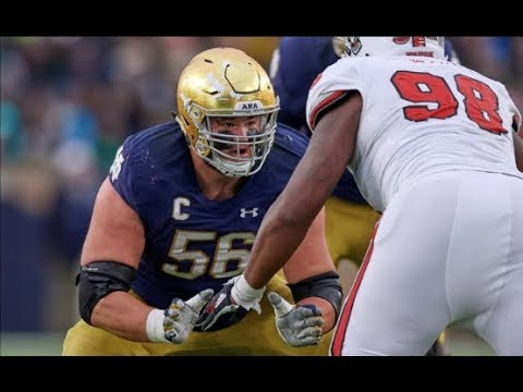Quenton Nelson 2017 Highlights