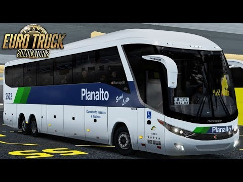 Euro Truck Simulator 2 – Mod Bus | Planalto | Erechim/São Paulo - EAA + Detail Map