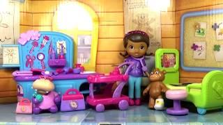 Доктор Плюшева Игровой Набор для детей 'Госпиталь'. Играем Вместе В Куклы. Doc McStuffins Game Set