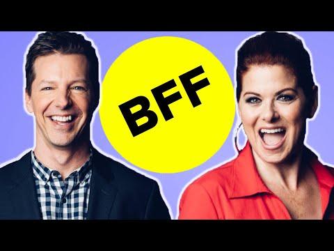 Sean Hayes & Debra Messing Take The BFF Test