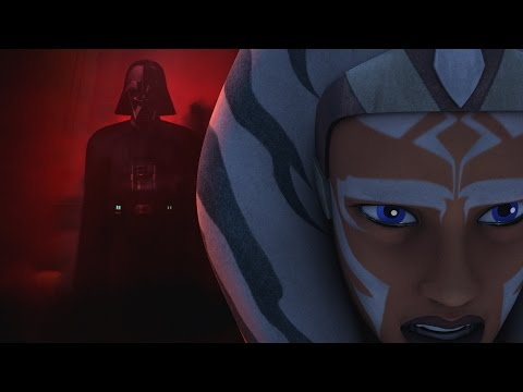 "Anakin "" Why did you leave"" Scene Star Wars Rebels"