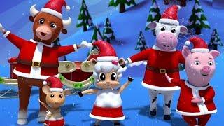 Weihnachtsmann Finger Familie | Weihnachtslieder | Weihnachtsmann Lied | Santa Claus Finger Family