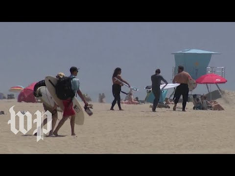 California beaches become point of contention amid coronavirus stay-at-home order