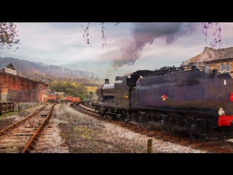 Spring Steam in the valley