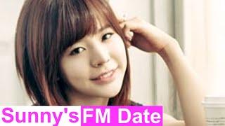 써니의 FM데이트 - Logo Song composed by Sunny, 써니가 직접 만든 FM데이트 로고송 20140512