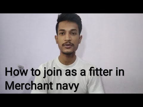 How to join as a fitter in merchant Navy