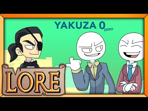 YAKUZA 0: Fighting Over a Vacant Lot | LORE in a Minute! | Kazama Kiryu & Goro Majima | LORE