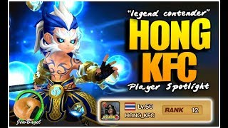 "SUMMONERS WAR: ""HONG_KFC"" Legend Contender Player Spotlight"