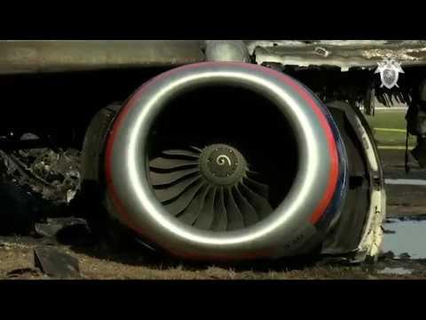 Самолёт Москва-Мурманск пожар видео внутри салона, потерпевший крушение при посадке в Шереметьево