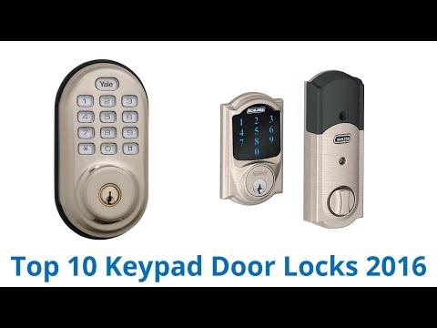 10 Best Keypad Door Locks 2016