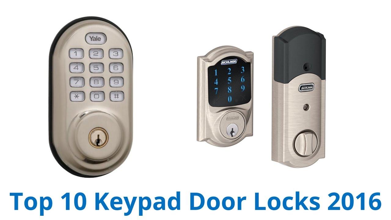 Merveilleux 10 Best Keypad Door Locks 2016