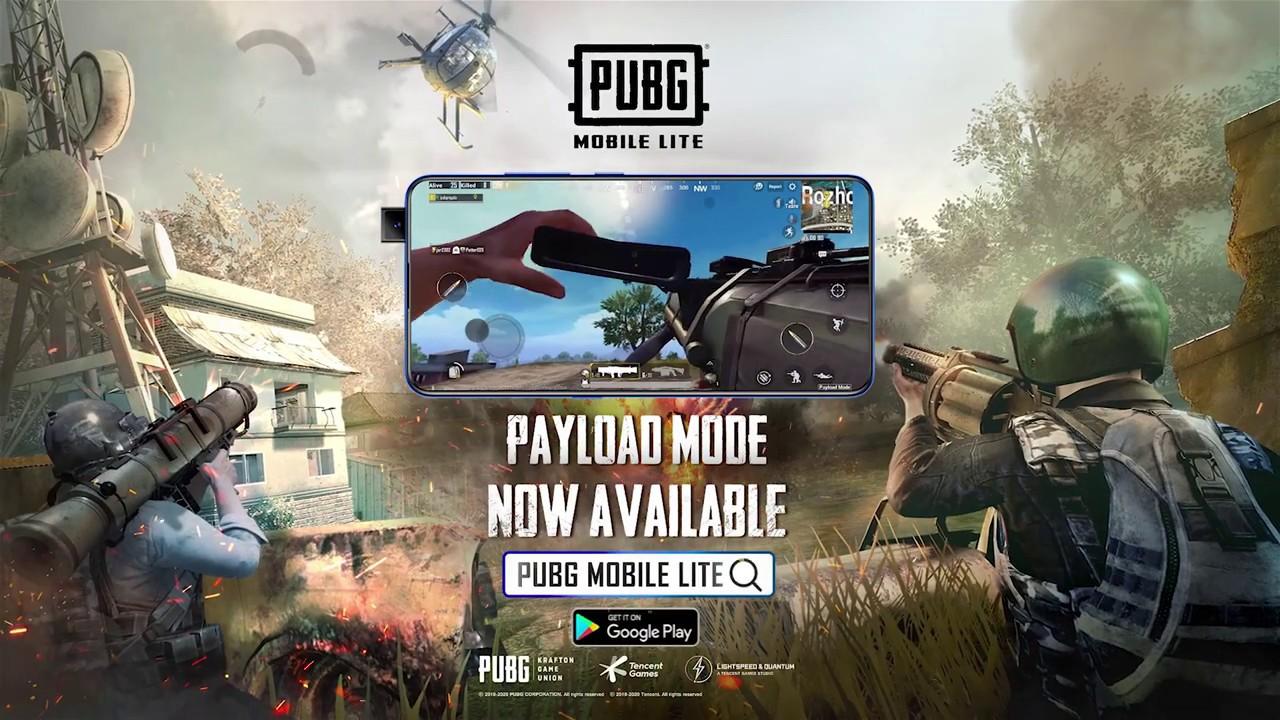 PUBG MOBILE Lite Ver 0.17 Payload Mode