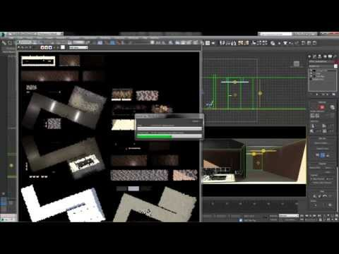 Baking Textures in 3DS Max - Render to Texture