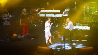 20140627 kirk franklin in korea- lean on me with 소향