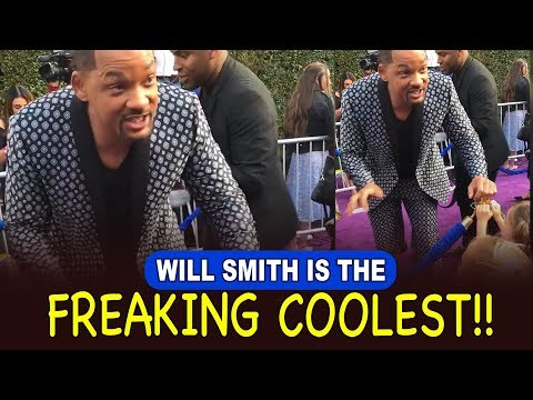 Moran - Watch Will Smith Stay in Character on The Aladdin Red Carpet