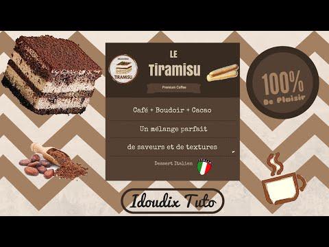 recette-simple-tiramisu-original!