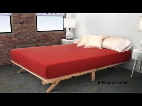 Fold Platform Bed - Assembly Instructions