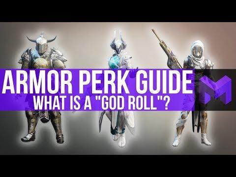 Destiny 2 Forsaken: God Roll Armor Guide (What Perks are Best)