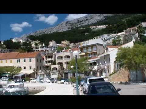 Brela Croatia, one of the most beautiful cities in Dalmatia