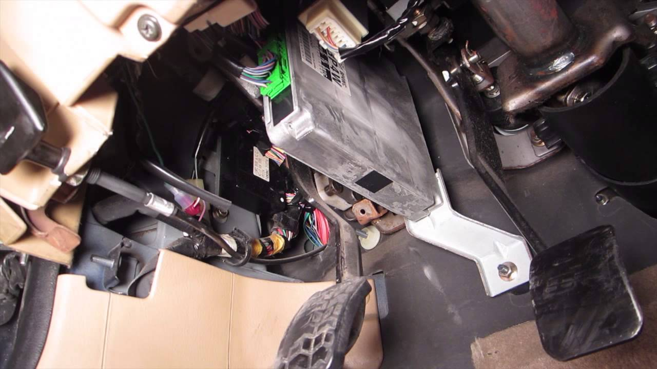 Miata Neutral Safety Switch Wiring Diagram Opinions About Ford 1999 Clutch Pedal Youtube Rh Com Chevy 4l80e