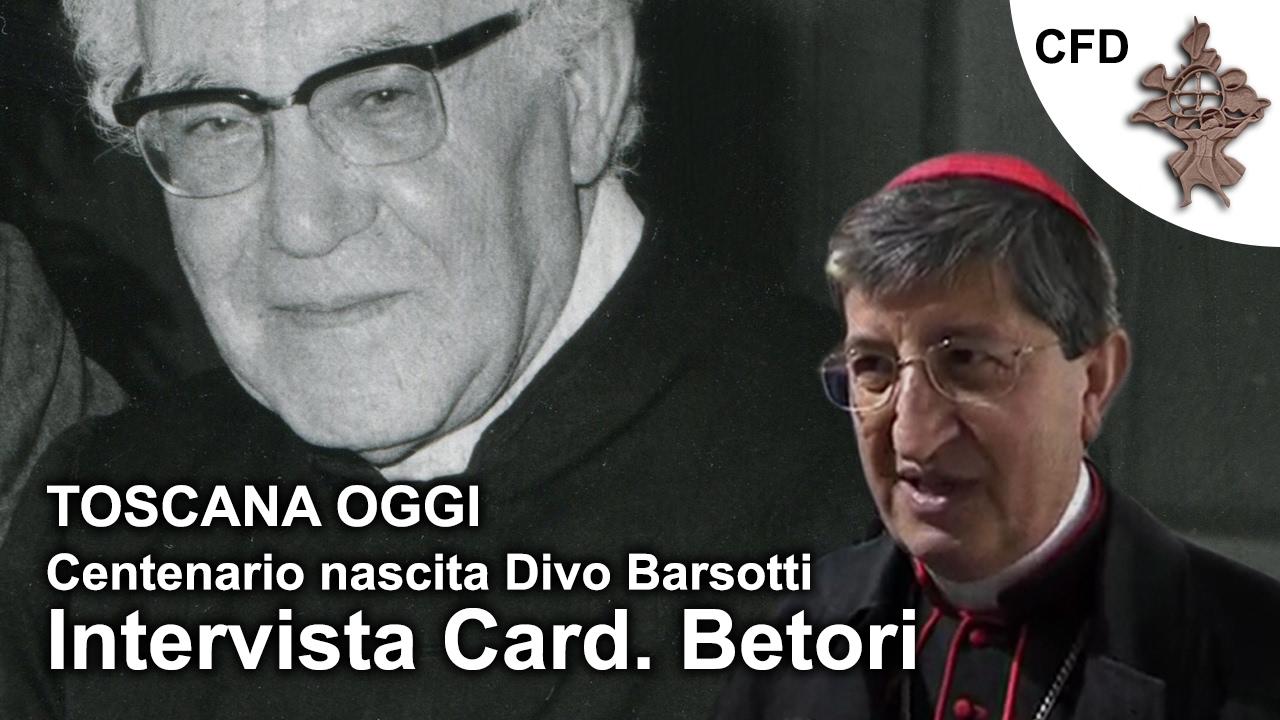 Card betori parla di don divo barsotti intervista - Don divo barsotti meditazioni ...