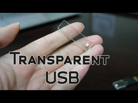 Transparent USB Memory Drive by Polytron Hands On & Demo