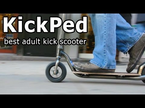 KickPed, NYC's Kick Scooter