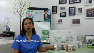 SimplyNature PPARS assisted Dr. Joy De Castro on her Breast Cancer Patient