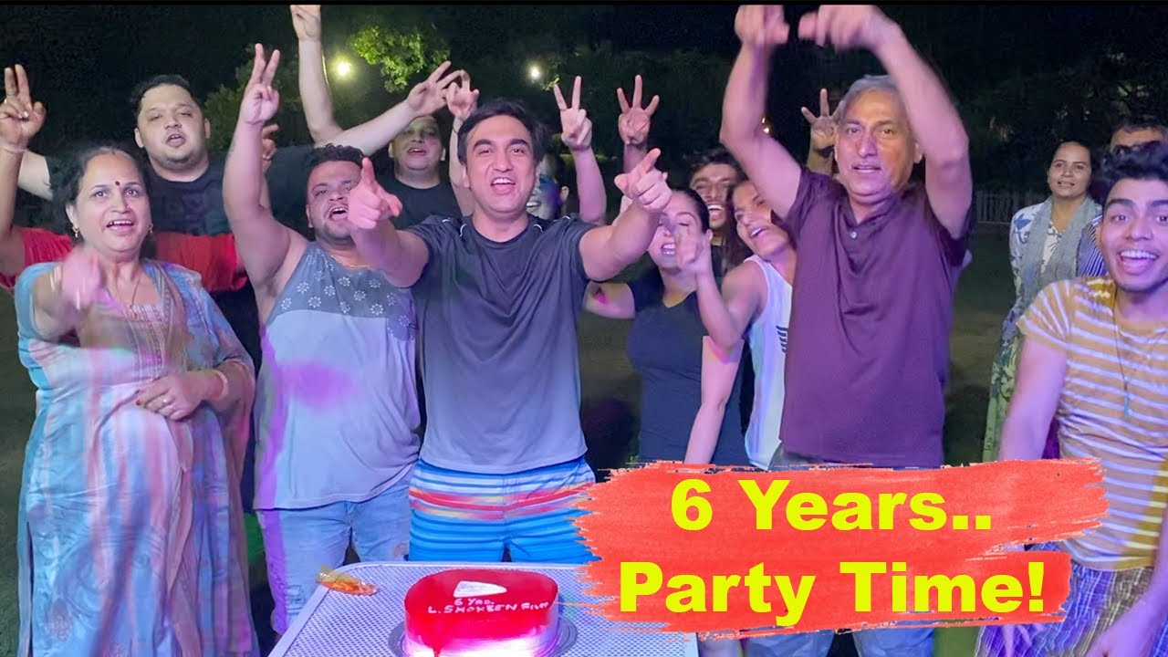 Celebrating 6 years - Party Time | Vlog - 38 | Lalit Shokeen