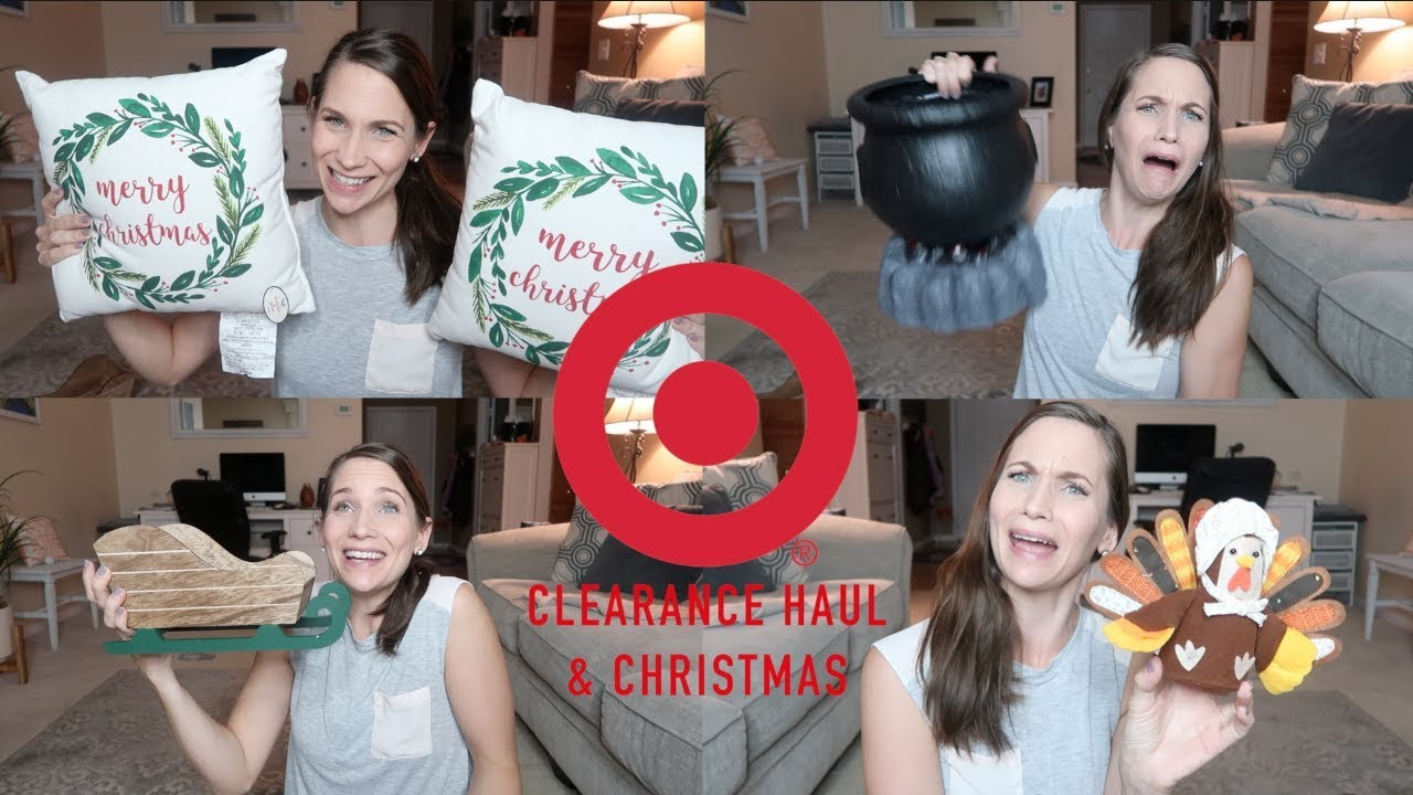 Amazing Finds! Target Haul!  Halloween Clearance, Thanksgiving, & Christmas 2018 OF COURSE