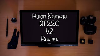 Best editing tablet for photographer (Huion kamvas GT220 v2 Review)