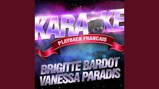 Nue Au Soleil — Karaoké Playback Instrumental — Rendu Célèbre Par Brigitte Bardot