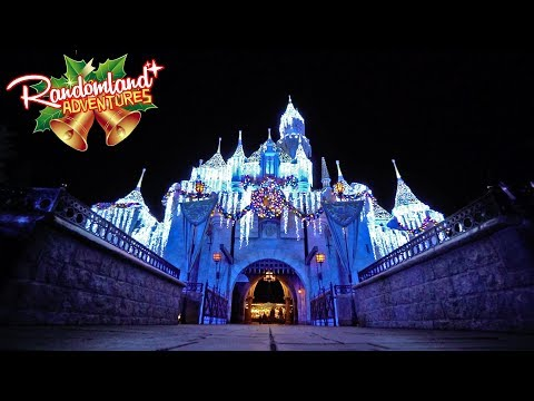 Christmas is back at Disneyland!