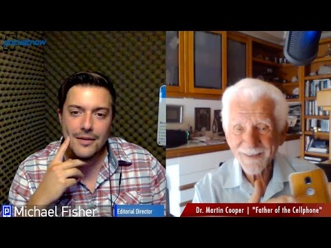 "Meet the ""Father of the Cellphone,"" Dr. Martin Cooper"