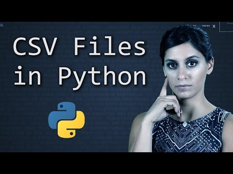 CSV Files in Python  ||  Python Tutorial  ||  Learn Python Programming