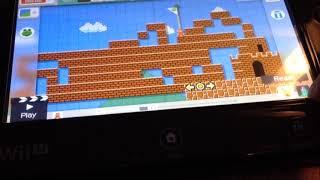 Mario Marathon Super Mario Maker (WiiU)
