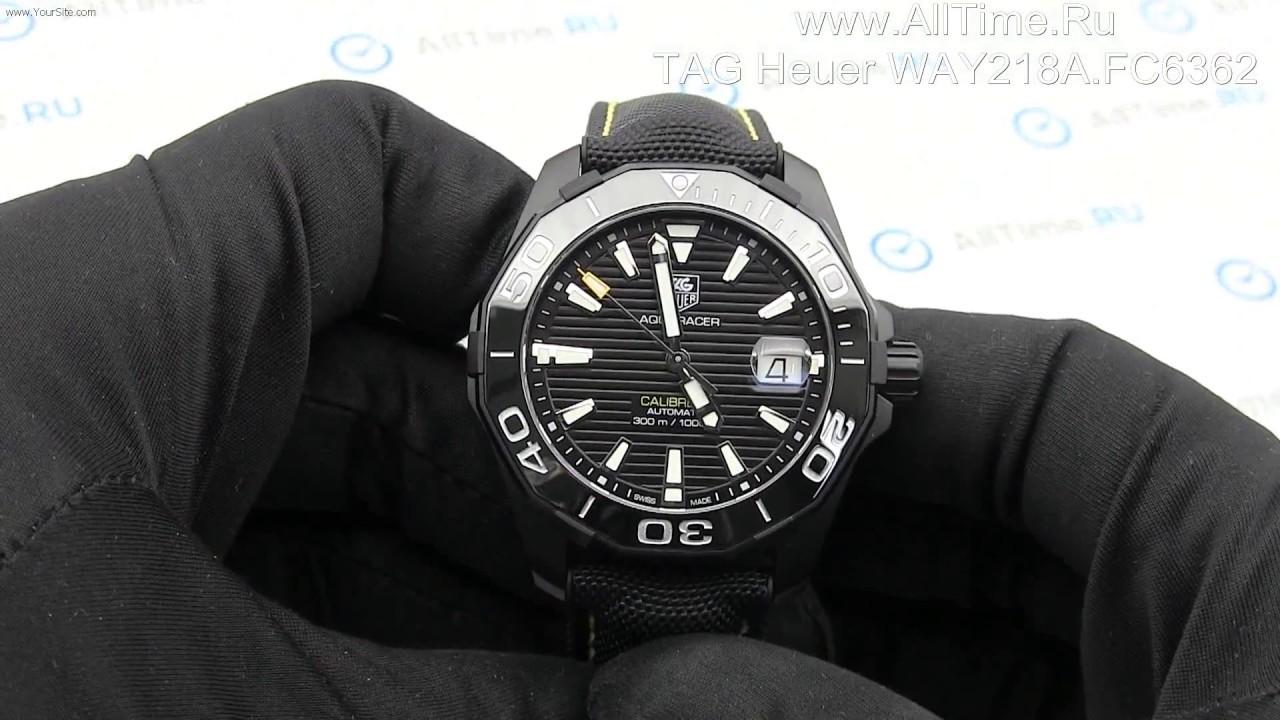 Наручные часы tag heuer aquaracer way2019 ba0927