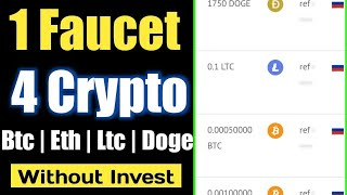 New Free Bitcoin Btc Ethereum Eth High Paying Faucet Site 2020 Without invest | Earn zcash free