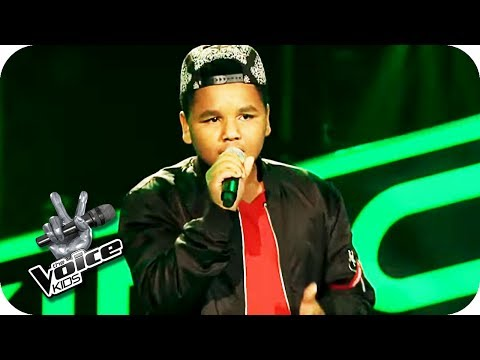 The Temptations - Papa was a Rolling Stone (Julien) | The Voice Kids 2017 | Blind Auditions | SAT.1