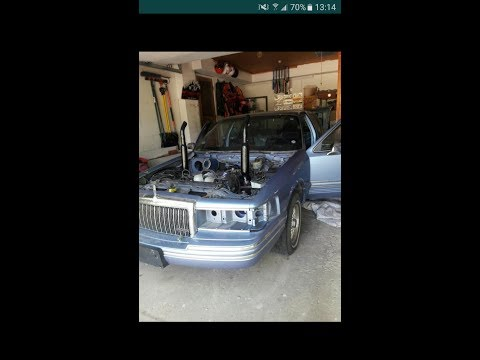 lincoln town car demo derby update #4 part 1